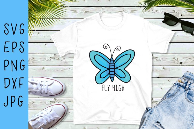 Butterfly SVG example image 1