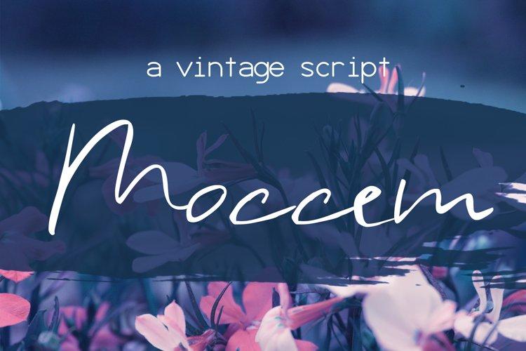 Moccem Font example image 1