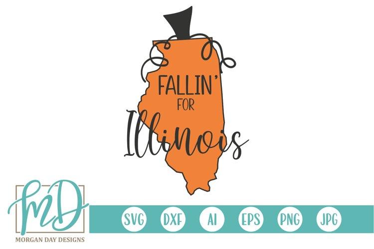 Halloween - Pumpkin State - Fallin For Illinois SVG