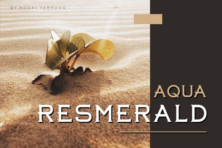 Aqua Resmerald example image 1