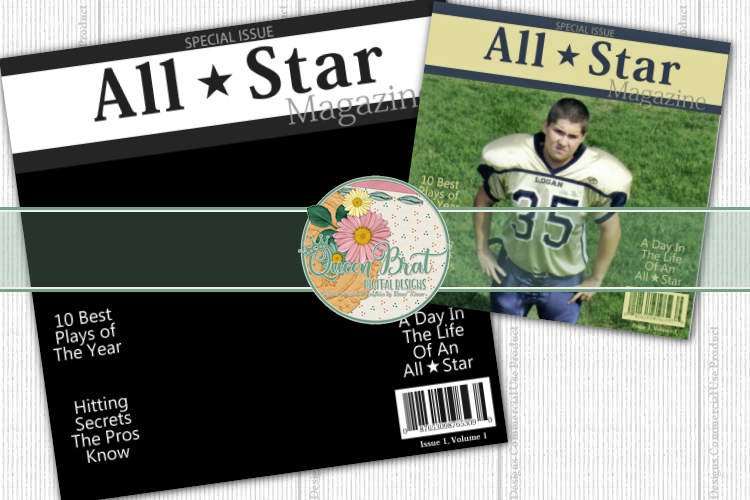Magazine Cover All Star example image 1