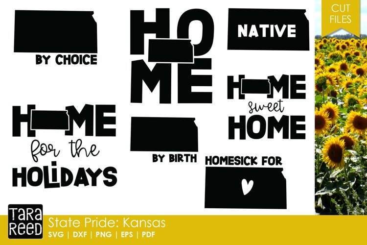 State of Kansas - SVG and Cut Files for Crafters example image 1