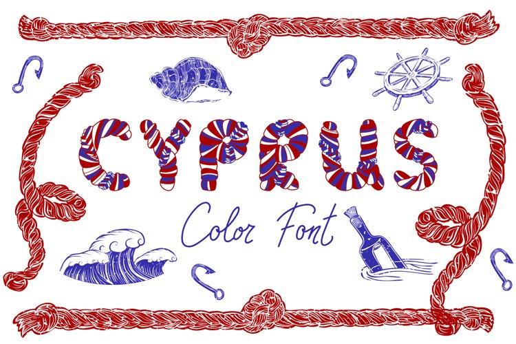 CYPRUS Colour Font