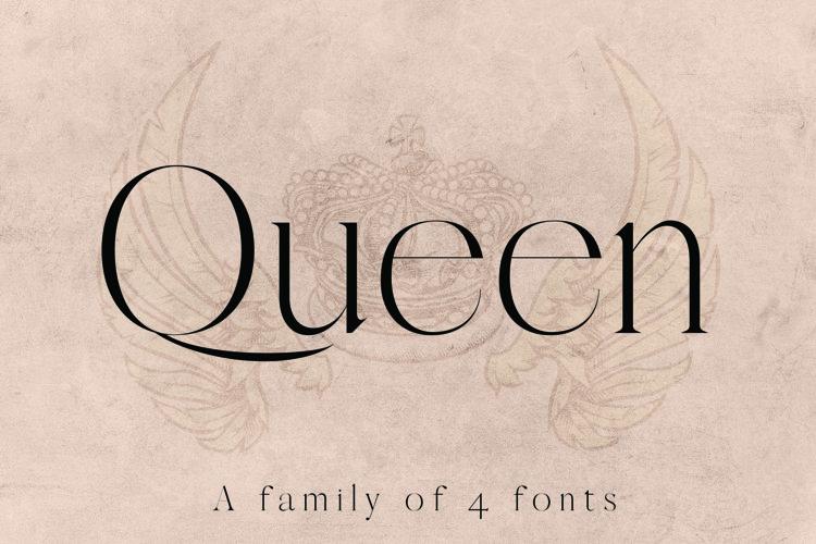 QUEEN, An Elegant Serif Font example image 1