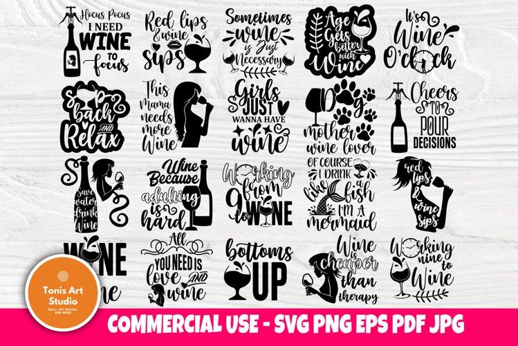 Download Drinking Svg Bundle Wine Svg Wine Quotes Shirt Designs 766759 Cut Files Design Bundles
