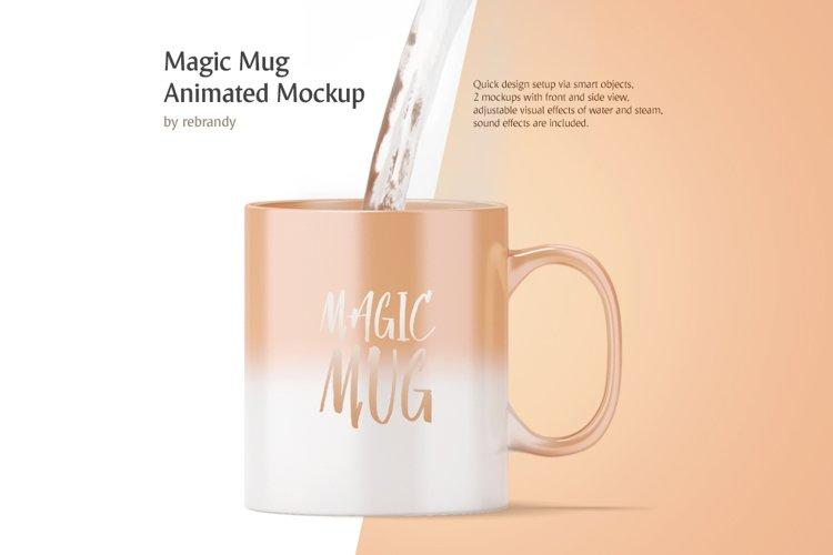 Magic Mug Animated Mock up example image 1