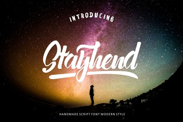Stayhend - script & sans (30% OFF) example image 1