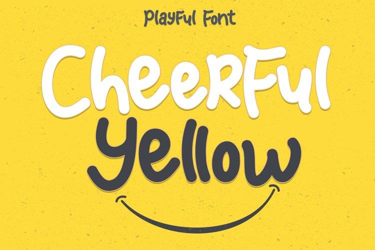 Cheerful Yellow example image 1