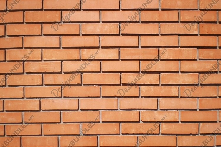 Orange brick wall example image 1
