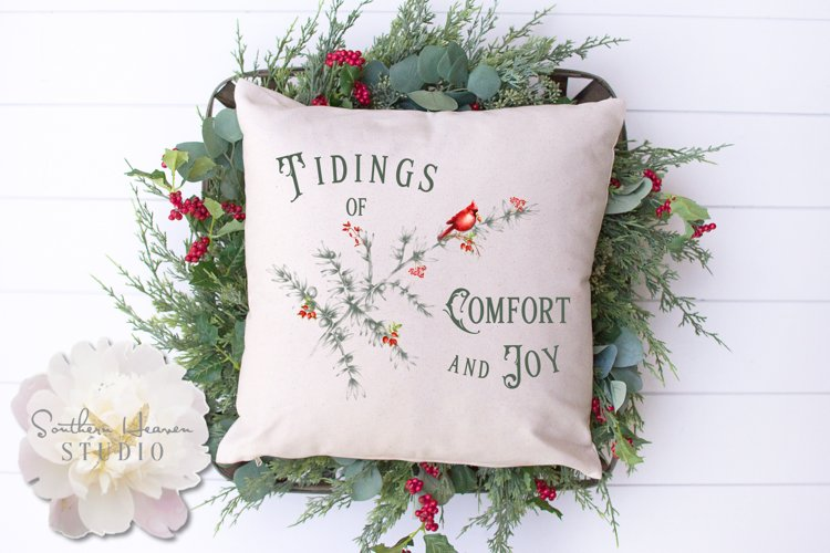TIDINGS OF COMFORT AND JOY, CARDINAL - PNG