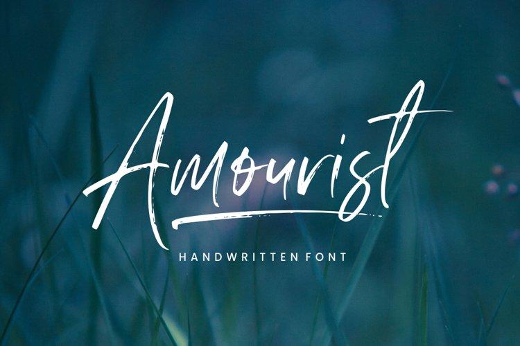 Amourist - Handwritten Font example image 1