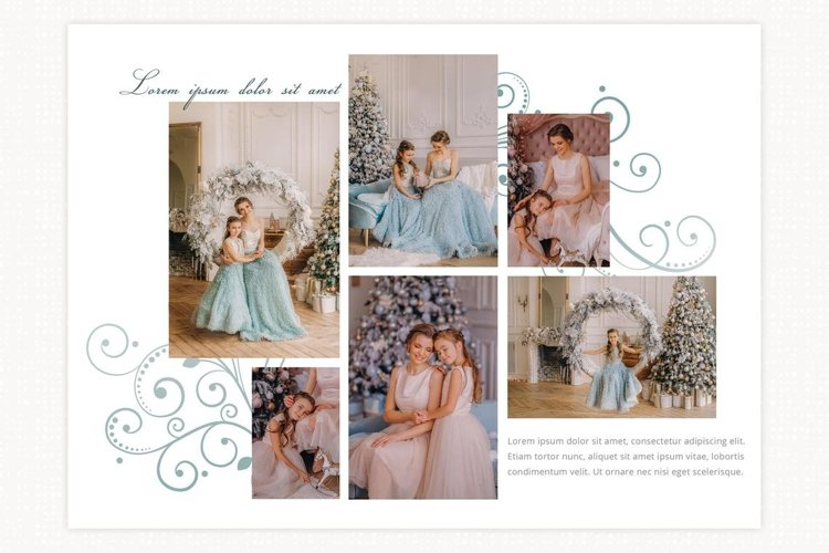 Photoshop collage template, photo collage template example image 1