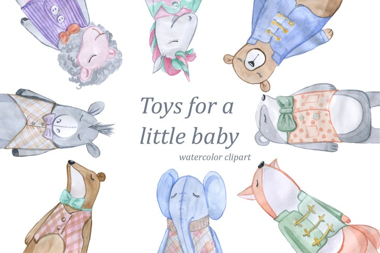 Toys for a little baby example image 1