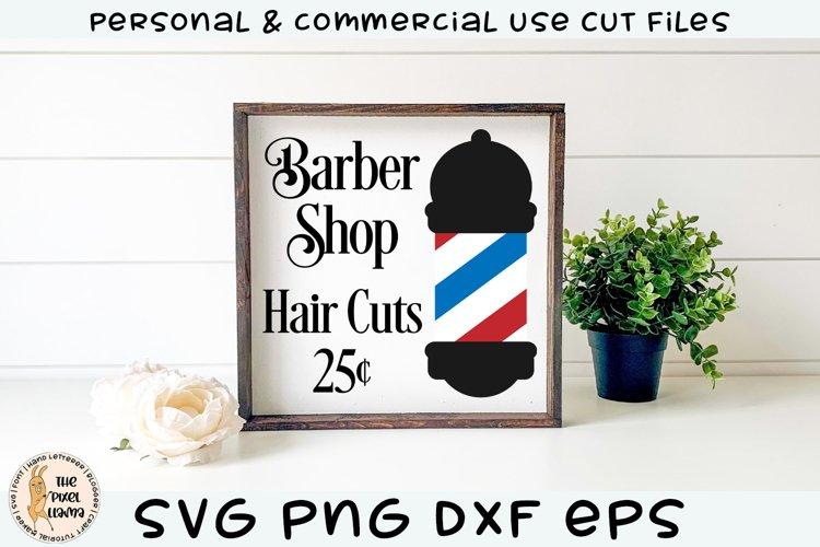 Barber Shop Hair Cuts SVG