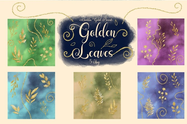 Golden leaves example image 1