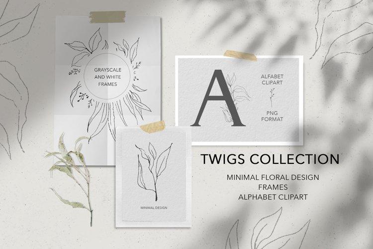 Fine line floral collection