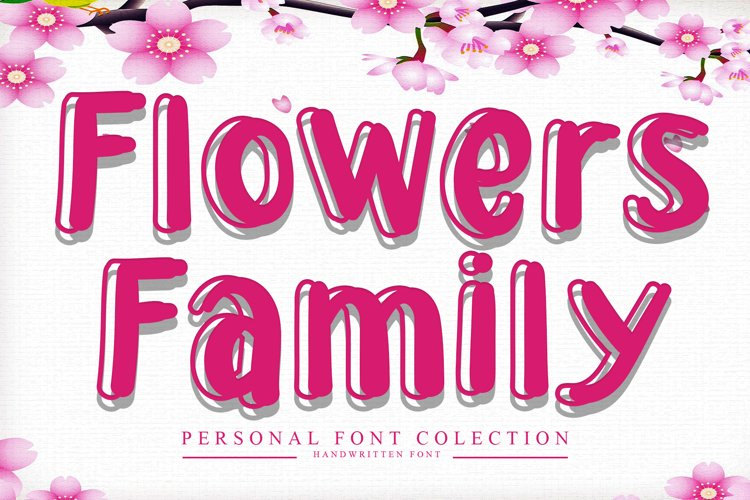 Flowers Family example image 1