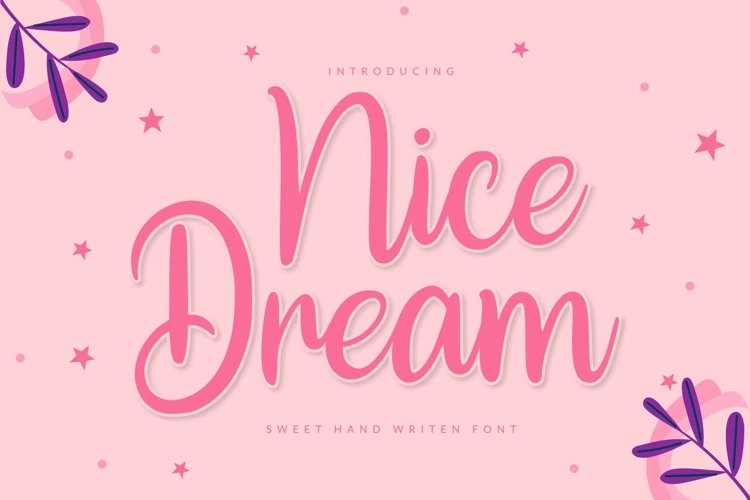 Nice Dream example image 1