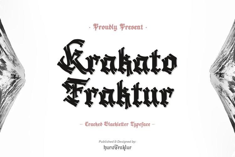 Krakato Fraktur example image 1
