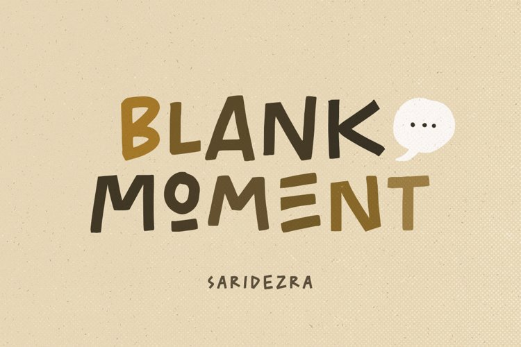 Blank Moment - Quotable Font example image 1