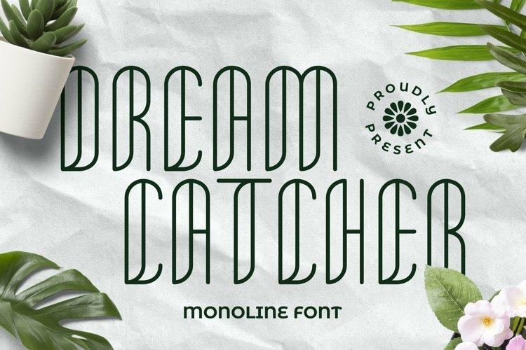 Web Font Dreamcatcher Font example image 1