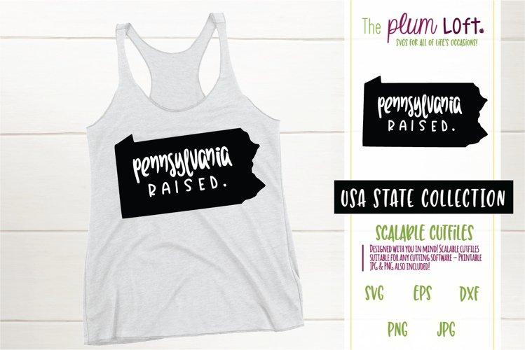 Pennsylvania Raised - SVG design example image 1