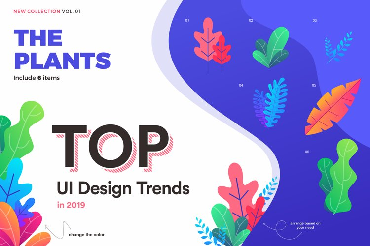 TOP! UI element designs example image 1