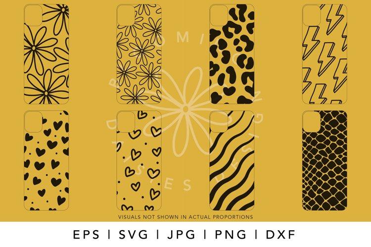 iPhone Case SVG Design Bundle, iPhone 12 Pro Template SVG example 1