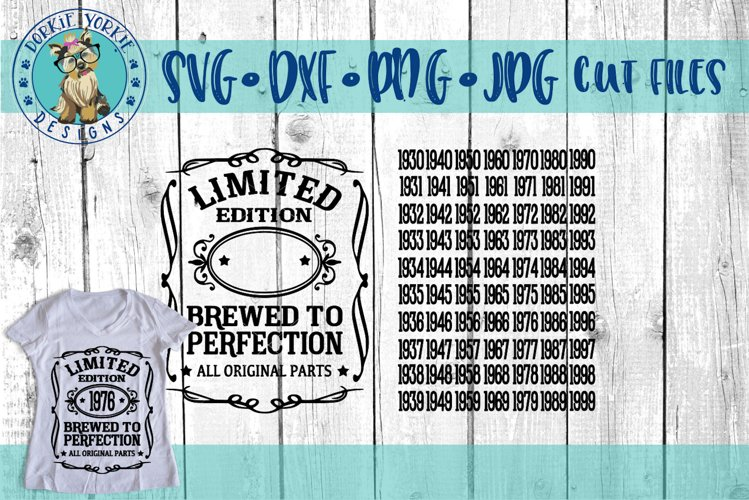 Brewed to Perfection SVG Cut File - All original parts - Free Design of The Week Font