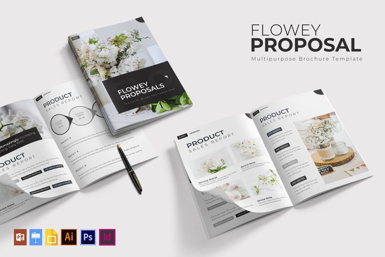 Flowey | Proposal Template example image 1