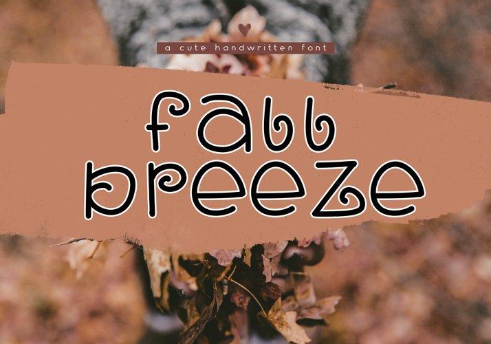 Fall Breeze - A Fun Handwritten Font example image 1