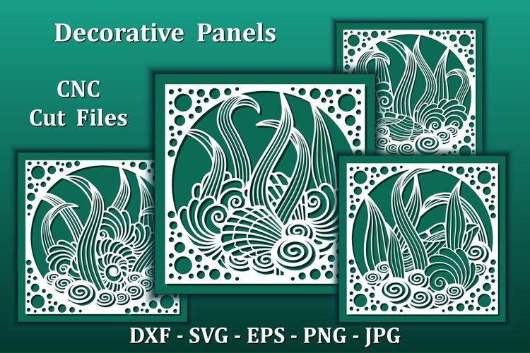Nautical wall art panels, CNC Cut files