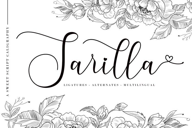 Sarilla Script example image 1