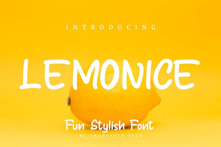 Lemonice example image 1
