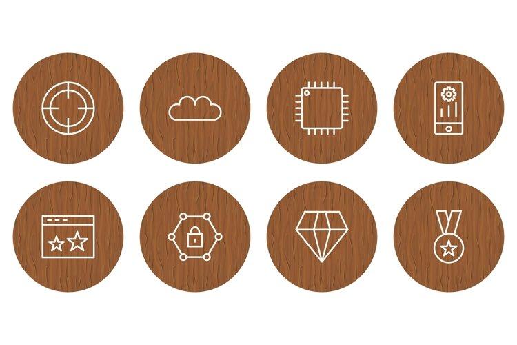 Set Of Search Engine Optimization Icons example image 1