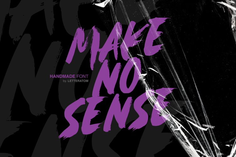 Make no Sense example image 1