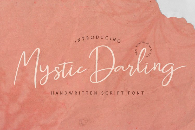 Mystic Darling - Handwritten Font example image 1