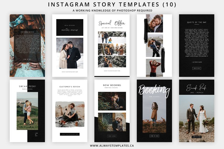 Instagram Stories Templates IGS002