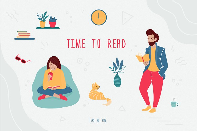 Time to read. Reading people vector collection