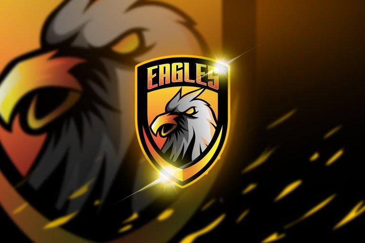 Eagles - Mascot & Esport Logo example image 1