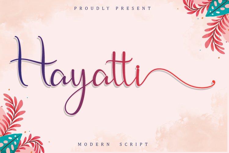 Hayatti example image 1