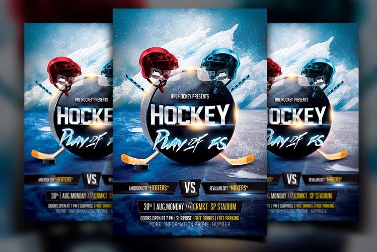 Hockey Flyer example image 1