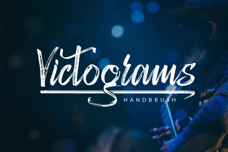 Victograms - Handbrush Font