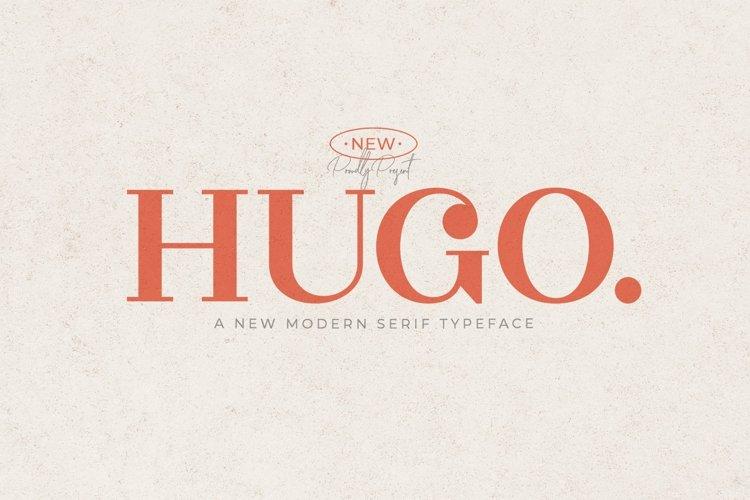 Web Font Hugo example image 1