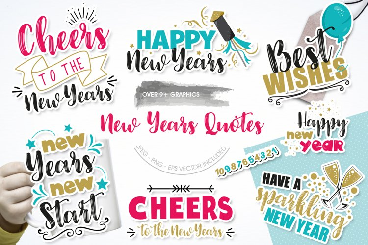 New years Quotes Graphics and illustrations christmas