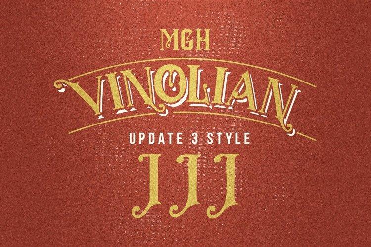 MGH vinolian HandDrawn Clean & Rough example image 1
