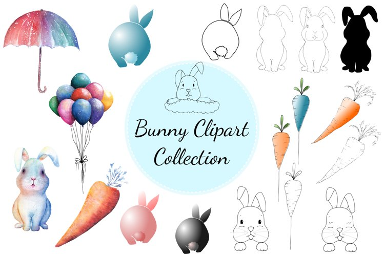 Bunny Clipart Collection