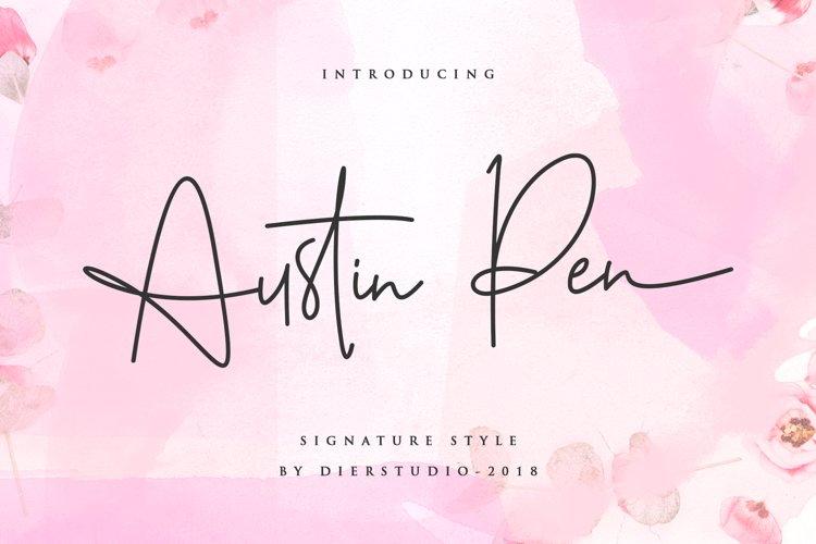 Austin Pen - Signature Monoline example image 1