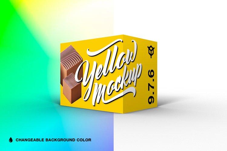 9.7.6 Simple 3D Box Mockup PSD