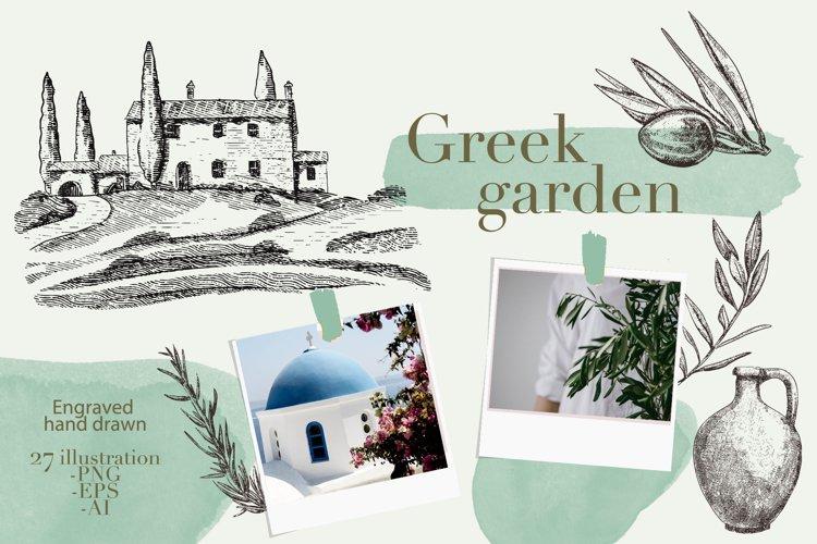 The Greek garden
